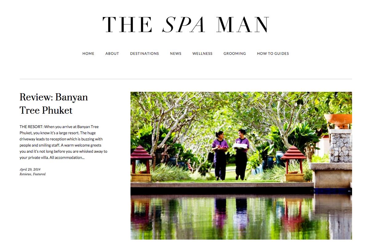 THE SPA MAN HOMEPAGE